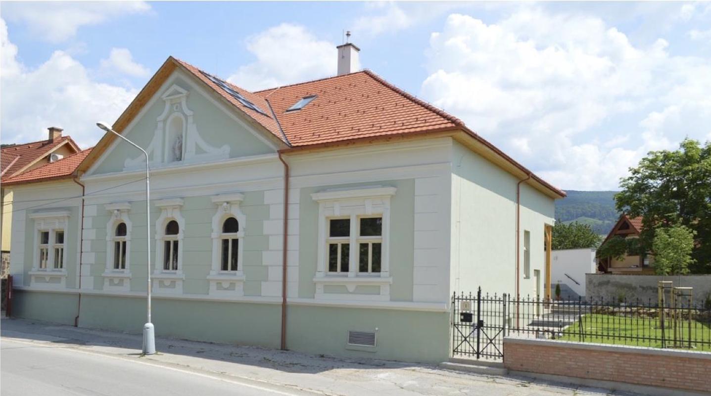 Budova Domu tradičnej kultúry Gemera
